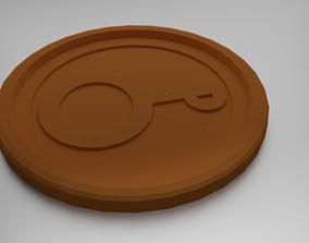 Pholus Coaster 3D printable model