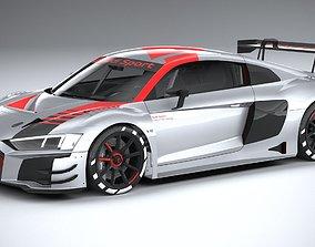Audi R8 LMS GT3 2020 lowpoly 3D