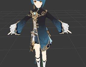 3D model Xingqiu