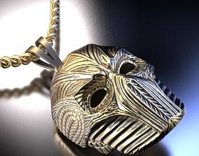helmet necklace 3D printable model