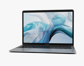 Apple MacBook Air 2020 Silver 3D model