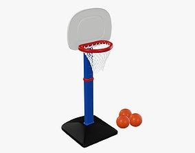 Basketball play Set 3D model