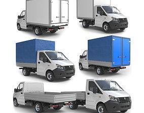 Gazelle Next lorry lowpoly 3D model