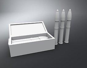 105mm Artillery Shell 3D printable model