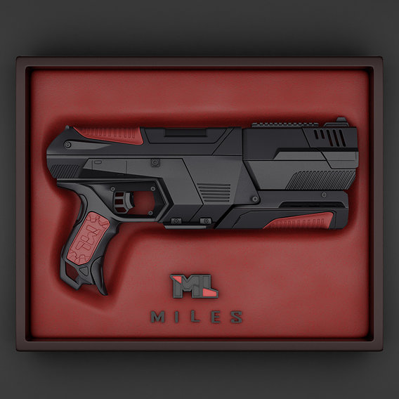 The Sci Fi Transformable Handgun