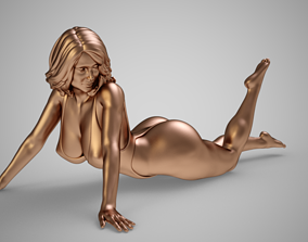 3D print model Woman in Swimwear