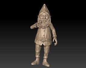 Santa Claus 3D printable model art
