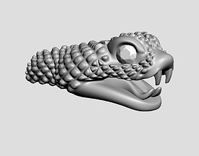 3D print model Snake head 3 - Best for jewelry
