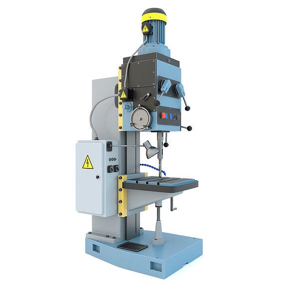 Machine tool drilling press vertical 2S132