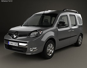 3D model Renault Kangoo 2014