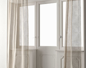 Curtain 008 3D model