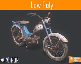 Scooter 02 3D model