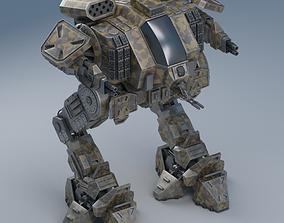 Battle mech Object26 3D model