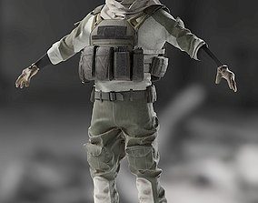3D SOLDIER High Poly equipment