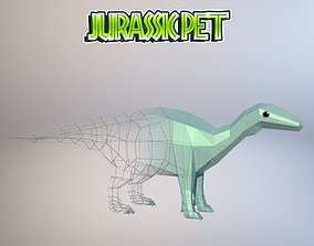 3D model Iguanodon bernissartensis