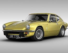 Triumph GT6 MK3 1973 3D