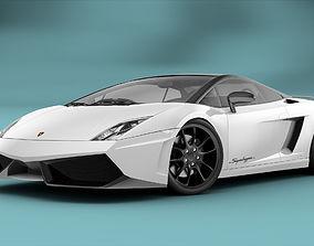 Lamborghini Gallardo LP570-4 RIGGED 3D