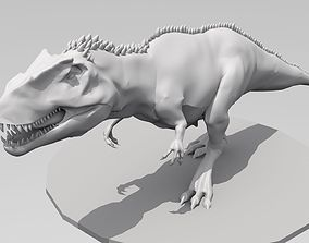 3D printable model Giganotosaurus High ploy