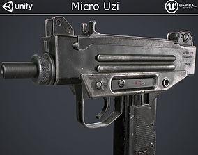 Micro Uzi 3D model