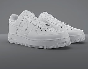 3D model Air Force 1 Low Nike PBR