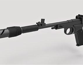 Princess Leia Blaster pistol Defender from Star 3D model 3