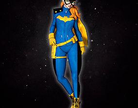 Batgirl new 52 3D printable model