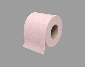 3D Toilet paper - pink