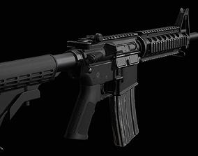 3D asset M4 - Carbine