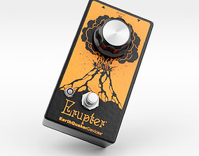 Earthquaker Devices Erupter Fuzz Pedal tone 3D