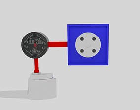 3D model Pitot Tube Simple System