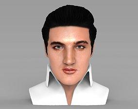 Elvis Presley bust ready for full color 3D