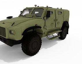 Gerlach Armoured Vehicle 3D model