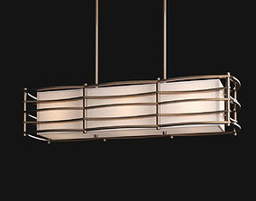 3D model Moxie linear chandelier