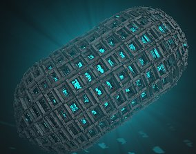 3D model Sci-Fi Shapes Klareca The Sign of Clarity