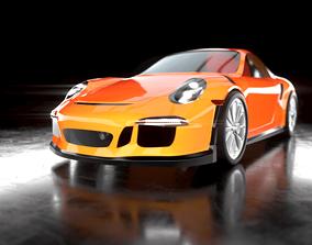 3D asset Porsche 911 gt3 rs 2016