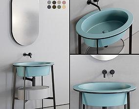 3D model Ceramica Cielo Catino Ovale Washbasin