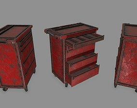 industry Cupboard 3D model low-poly