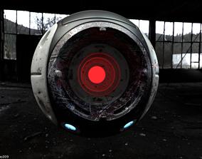 Vortex Orb Robot F01 3D asset
