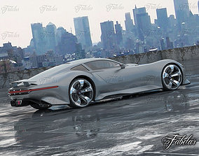 3D Mercedes Vision GT Environment