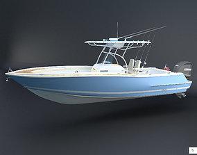 Catalina 26 Boat Chris Craft 3D asset