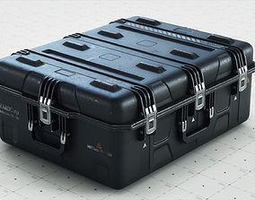 Crate SciFi - PBR Asset 3D model realtime