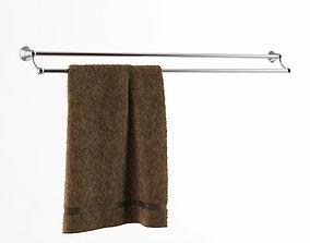3D Seattle Double Bar Towel