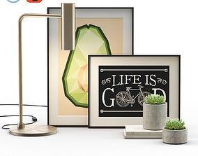Decorative Set I 3D model