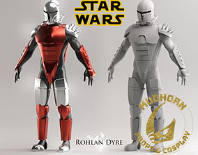 Cosplay Armor - Rohlan Dyre - Star Wars 3D print model 1