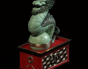 3D print model Asian Dragon Ornament