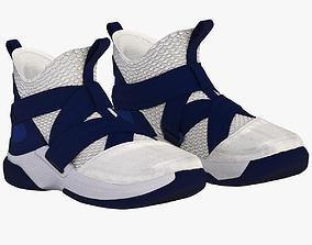 3D model Nike LeBron Soldier XII SFG Blue