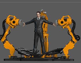 3D printable model IRONMAN GANTRY TONY STARK SET STATUE 2