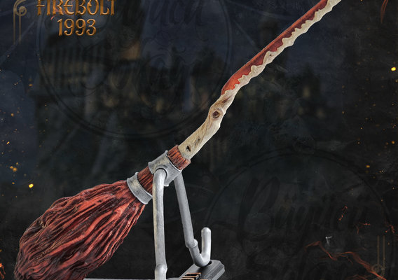 Firebolt Broomstick 3D Printable Model - Harry Potter