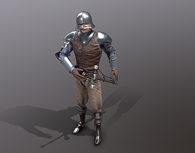 TAB Medieval Knight - 2 3D asset animated