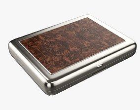 Cigarette metal case box 03 closed 3D model
